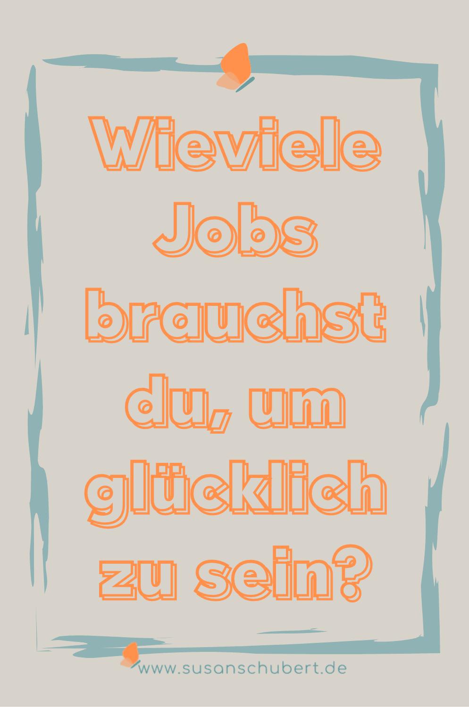 Berufung leben ein Job mehr